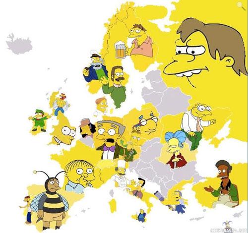 Map Of Europe Estonia